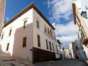 Can Botino today houses the city mayor's office, the plenary room and the historical archives