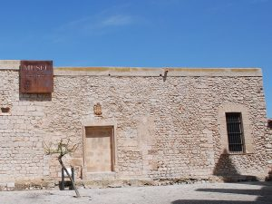 Home to the University in Dalt Vila. It houses part of the Archaeological Museum.