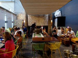 Can Terra's patio, in Ignasi Wallis