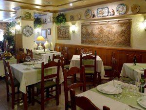 El Cigarral, a restaurant of traditional Spanish cuisine