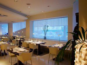 Hotel Pachá restaurant, in the Paseo Marítimo