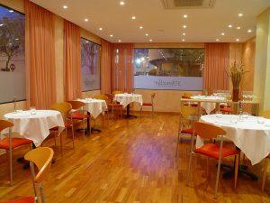 Dining area at S'Ametller, in the Es Pratet quarter.